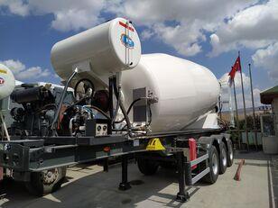 new NTM 2021 concrete mixer semi-trailer