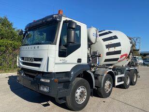 IVECO Trakker 410 concrete mixer truck