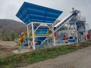 new PROMAX Impianto di Betonaggio Compatto PROMAX C60-SNG-PLUS (60m³/h) concrete plant