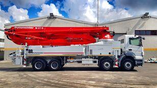 Putzmeister 2017 47 METER ERGONIC on chassis MERCEDES-BENZ Axor 4140 concrete pump
