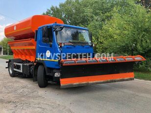 new MAZ 4381 N2 snow removal machine